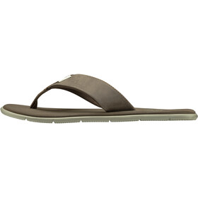Helly Hansen Seasand Leather Sandals Women, fossil/aluminium